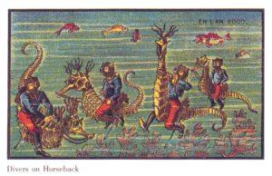Foto einer Papierkarte von Jean-Marc Côté